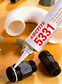 Полимеризующийся гель силиконовый / паста для герметизации пластиковых трубных резьбовых соединений. loctite 5331