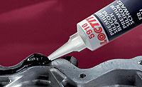 Силиконовые герметики - ''жидкие прокладки'' неподвижных (жестких) соединений, в том числе фланцев. Для зазоров соединений 0,25 - 3 мм. loctite 5910