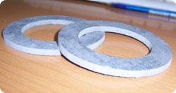 прокладка  паронитовая, толщина 5 мм